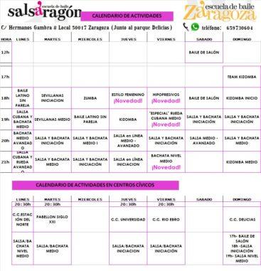 HORARIOS 2017-18